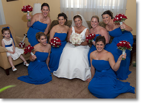 Our Special Bride and Bridal Party